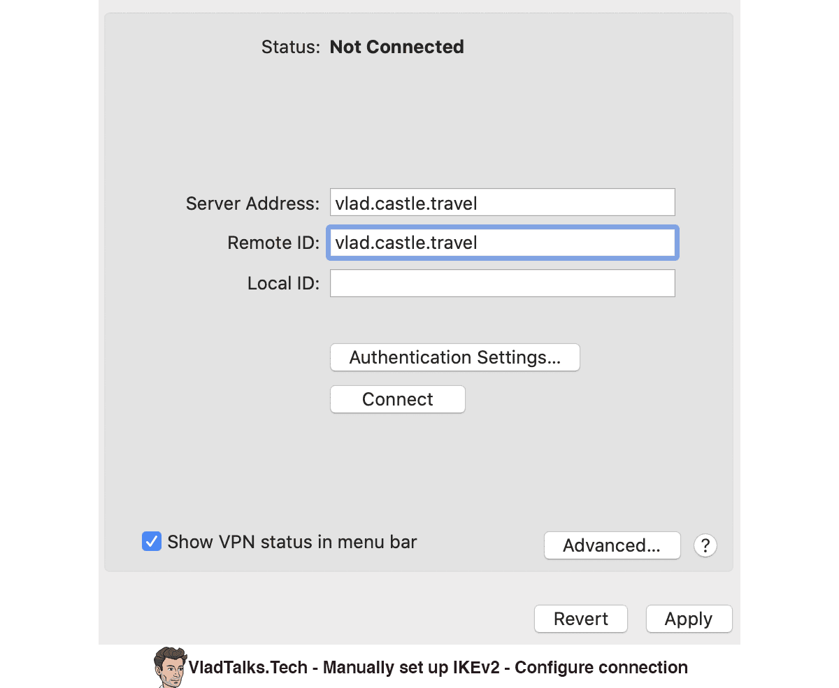 What is IKEv2? Manual IKEv2 setup - Configure connection